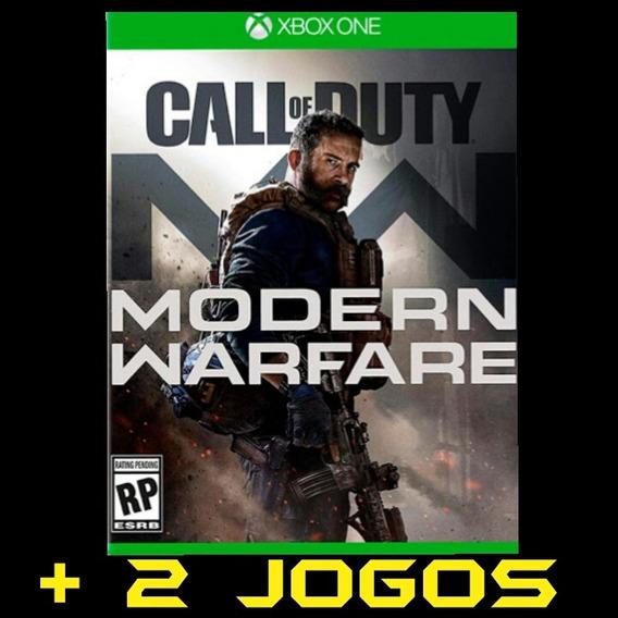 Call Of Duty Modern Warfare Xbox One Midia Digital + 2 Jogos