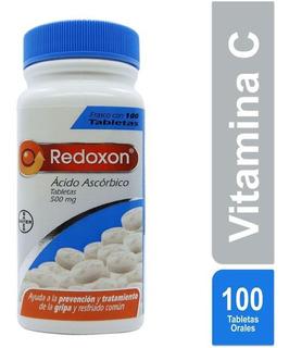 Redoxon Tabletas 500 Mg Con Ácido Ascórbico