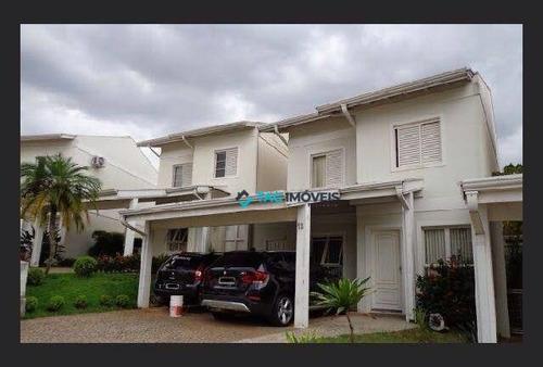 Imagem 1 de 15 de Casa Com 3 Dormitórios À Venda, 125 M² Por R$ 750.000 - Vila Nogueira - Campinas/sp - Ca1137