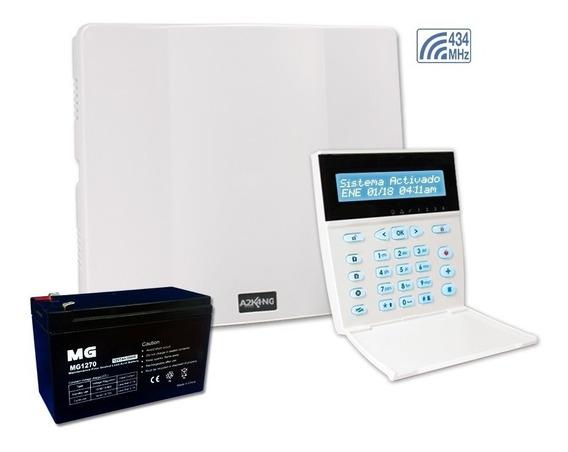 Alarma Para Casa Inalambrica A2k4-ng Rf + Bateria