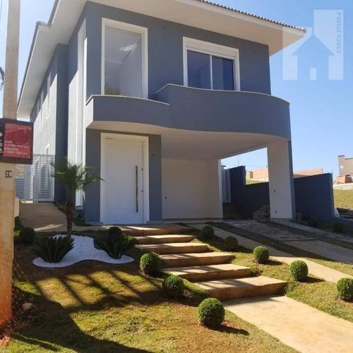 Casa Com 3 Dormitórios À Venda, 250 M² - Morro Alto - Itupeva/sp - Ca1093