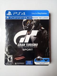 Gran Turismo Sport Limited Steelbook Ed Ps4 Nuevo Y Sellado.