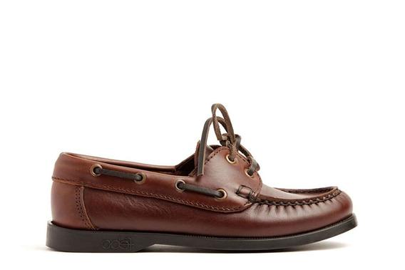 Zapato De Cuero Con Suela Febo