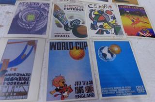 Coleçâo 15 Cards Placar Futebol 1930/50/60/70/80/90 Fret15,0