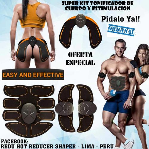 Electro Estimulación Muscular Smart Fitness Series 4 En 1