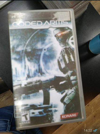 Coded Arms Psp (capa Impressa) (frete 15 Reais)