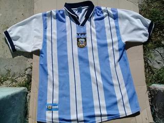 Camiseta Seleccion Argentina Afa-ypf Xl Num 10