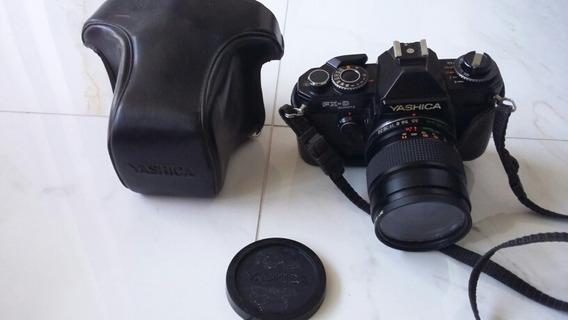 Câmera Yashica Fx-d Quartz + Lente 42-75