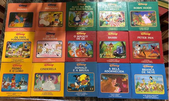 Coleção Clássicos Disney 15 Livros