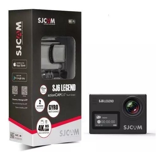 Camera Sjcam Sj6 Legend 4k Ultra Hd Wifi Prova D