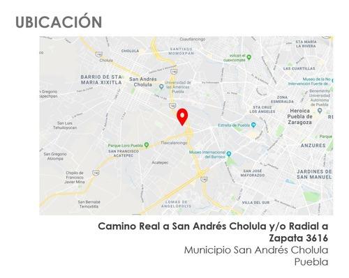 San Andres Cholula Puebla - Cuenta Con Proyecto Y Licencia D