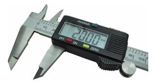Calibre Digital De Acero De 0 A 150 Mm. En Caja Y Con Pilas