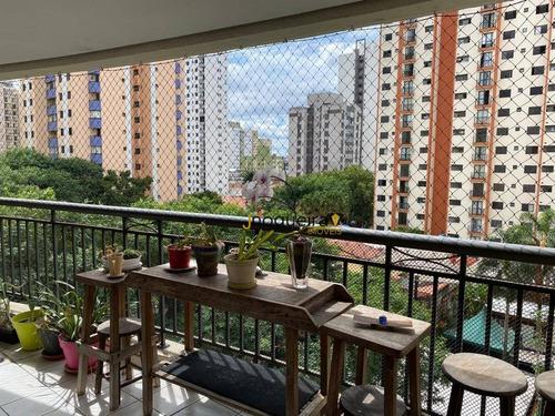 Imagem 1 de 30 de Apartamento Com 3 Dormitórios À Venda, 173 M² Por R$ 1.580.000,00 - Vila Mascote - São Paulo/sp - Ap15594