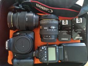 Câmera Canon 60d + Kit Completo