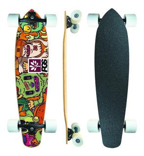 Skate Longboard Completo Pgs Monster Colors