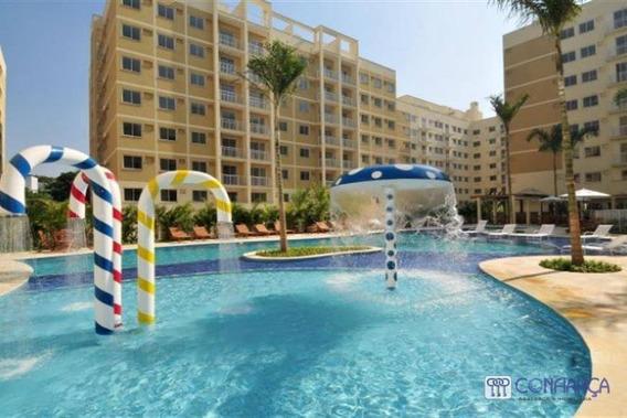 Apartamento Com 3 Dormitórios Para Alugar, 74 M² Por R$ 1.550/mês - Campo Grande - Rio De Janeiro/rj - Ap0902