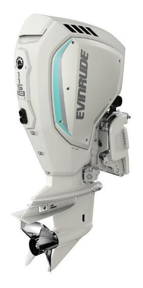 Motor De Popa Evinrude Etec G2 -lançamento 115hp 5 Anos Gara