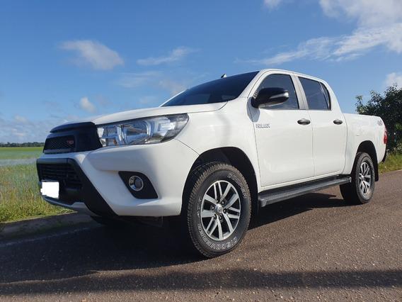 Toyota Hilux 2017 4x4 Diesel Ipva 2020 Pago