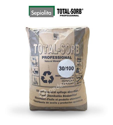 Imagen 1 de 2 de Sepiolita - Paquete 20kg - Total.sorb Professional