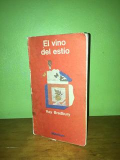 Libro, El Vino Del Estío De Ray Bradbury.