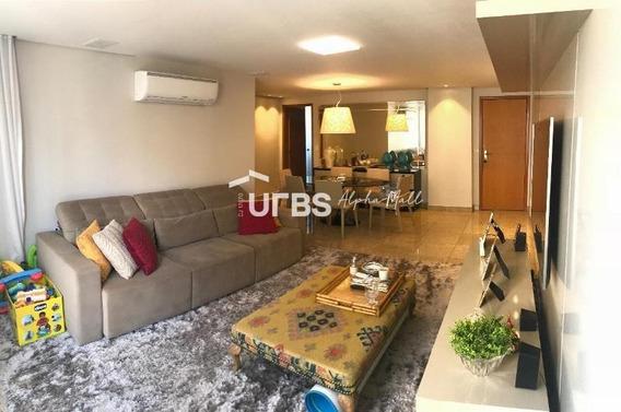 Apartamento Com 3 Dormitórios À Venda, 105 M² Por R$ 540.000 - Setor Bueno - Goiânia/go - Ap2932