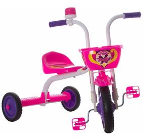 Triciclo Mini Bicicleta Infantil Menina Ultra Bike Rosa
