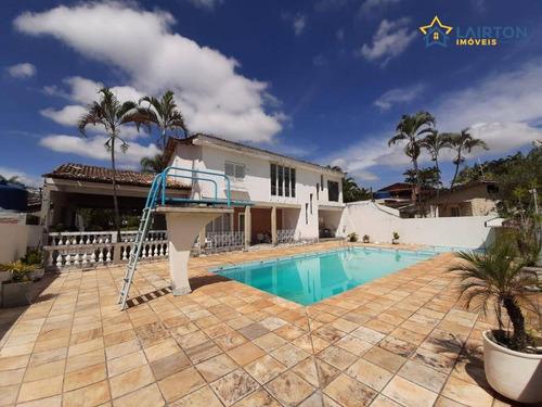 Chácara Com 4 Dormitórios À Venda, 2000 M² Por R$ 850.000,00 - Jardim Estância Brasil - Atibaia/sp - Ch0859