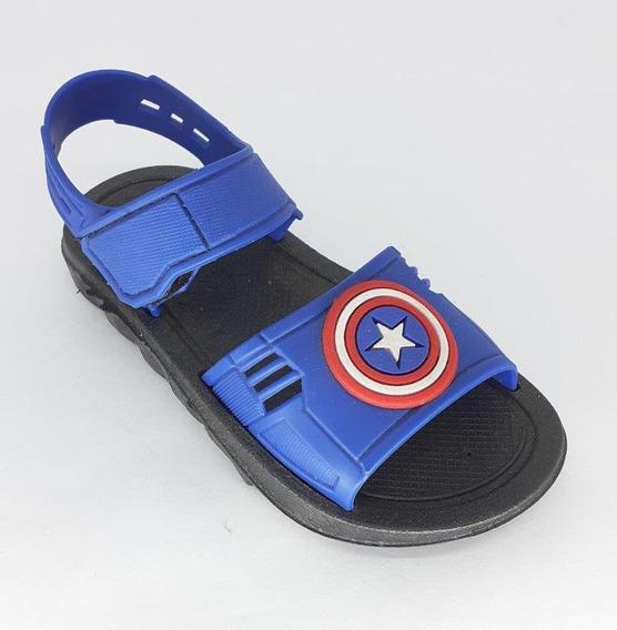 Papete Infantil Velcro Baby Kids Cap America