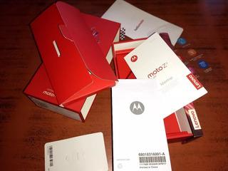Caja Completa Motorola Moto Z 2 Play - Estuche Muy Bueno