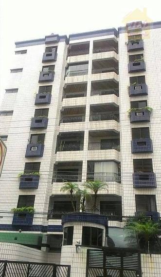 Apartamento Com 3 Dormitórios Para Alugar, 97 M² Por R$ 2.000,00/mês - Boqueirão - Praia Grande/sp - Ap3792
