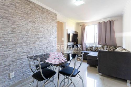 Imagem 1 de 30 de Belo Apartamento Com 3 Quartos, Bem Localizado,  Com 49 M² Horto - Campo Limpo - Sp/sp - Ap0609