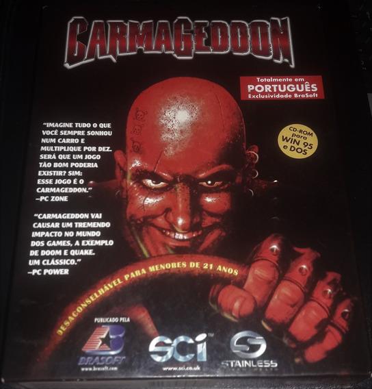 Carmageddon - Pc - Brasoft 1997 - Completo - Raríssimo