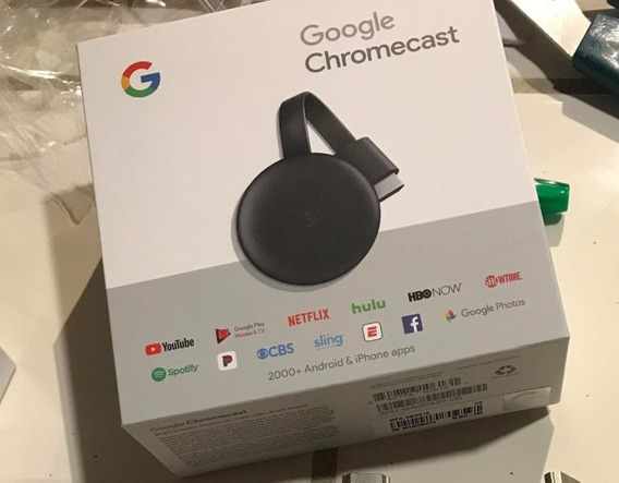 Google Chromecast 3 Wi-fi 802.11 1080p 5ghz Youtube Netflix
