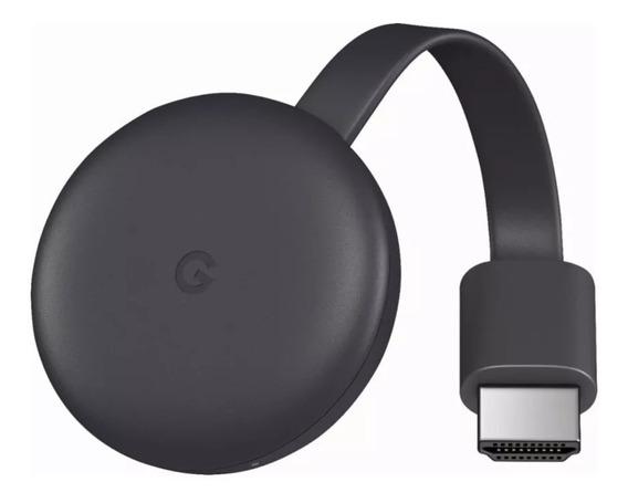 Novo Google Chromecast 3 Hdmi 1080p Chrome Cast 3 Original