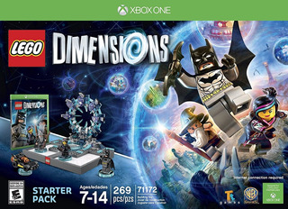 Lego Dimensions Starter Pack Fisico Nuevo Xbox One Dakmor