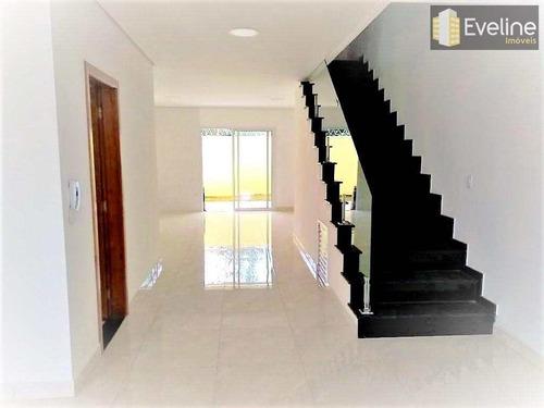 Casa A Venda Em Mogi Das Cruzes Condomínio R$ 660 Mil - 156 M² - V336