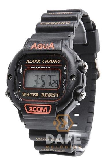 Relógio Aqua Aq-45 Barato Digital C/ Garantia E Nf
