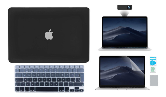 Kit Carcasa Case Premium 4 En 1 Macbook Air Pro Retina Touch