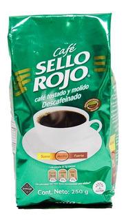 Cafe Sello Rojo Descafeinado 250gr