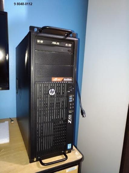 Workstation Hp Z420 - Xeon E5 1620 3.7ghz 16gb Ram - 2tb