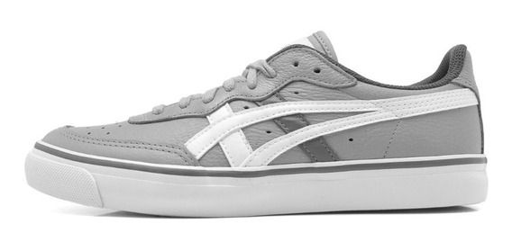 Tênis Asics Top Spin Leather Couro Natural Casual H034c-1301
