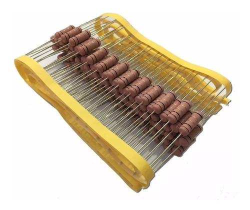 Imagem 1 de 2 de Resistor De Fio 1k2 5w 5% - 100 Peças