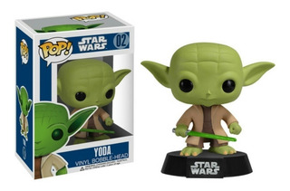 Funko Pop Yoda 02 Star Wars Muñeco Original