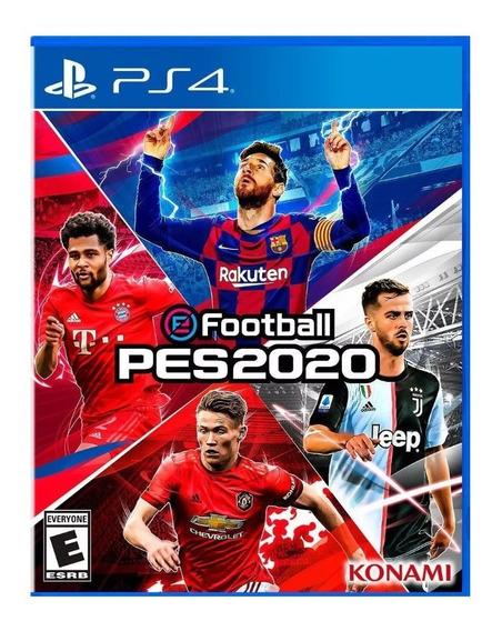 Pes 20 Ps4 Pes 2020 Efootball Ps4 - Jogo Original Psn