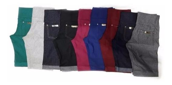 Bermuda Feminina Legging Jeans Cotton