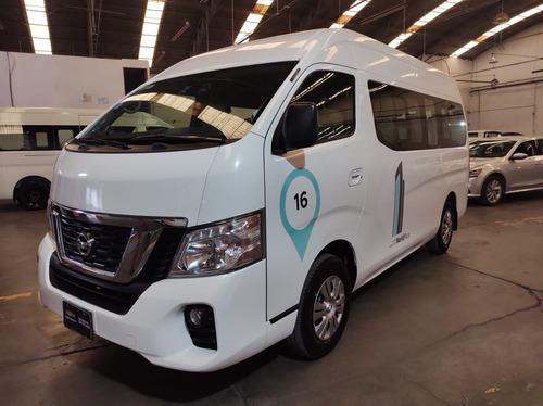 Imagen 1 de 15 de Nissan Urvan 2019 2.5 15 Pas Ampliapack Seg Die Mt