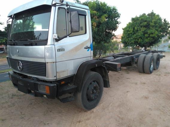 Caminhão Mb 1418 6x2 No Chassis Ano 1992
