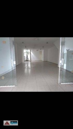 Salão Para Alugar, 175 M² Por R$ 9.100/mês - Vila Gomes Cardim - São Paulo/sp - Sl0209
