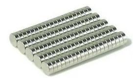 Imã De Neodímio / Super Forte / 3mm X 1mm/ 3x1 * 100 Peças*