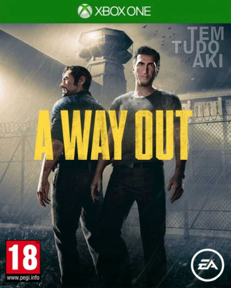 A Way Out Xbox One - 25 Dígitos Br
